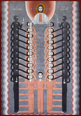 Icon of the Libyan Martyrs By Nicola Savic